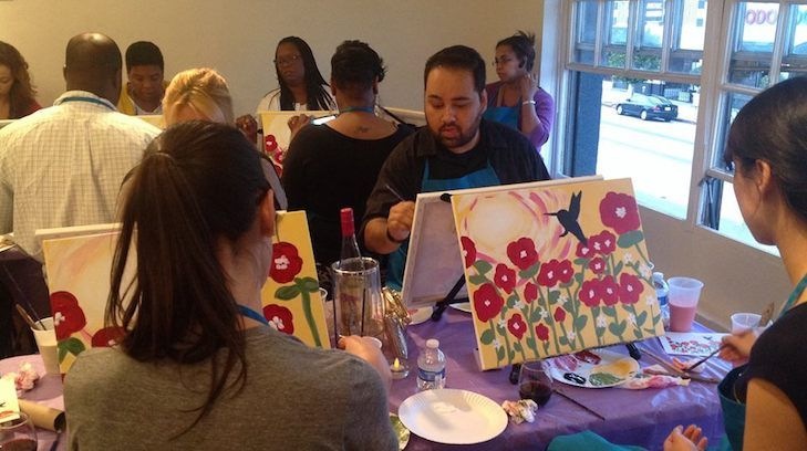 Paint and sip studio la los angeles for Painting classes ct