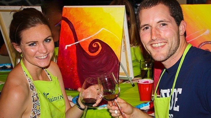 Entry to Paint Nite - Chicago