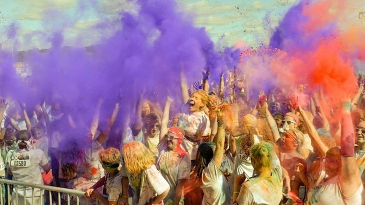 Entry Into The Color In Motion 5K Color Fun Run