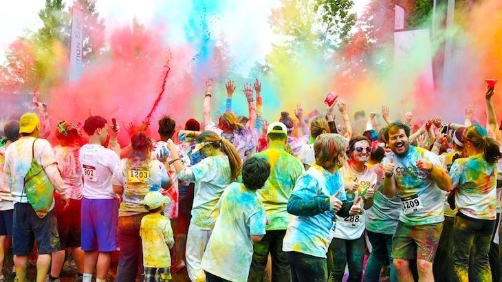 Race Registration For Color In Motion 5K