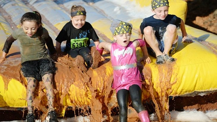 Obstacle-Course Mud Run for One Kid from Mud Factor Kidz