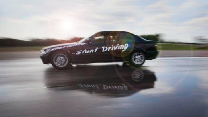 A Half-Day (4-hours) Stunt Driving Experience