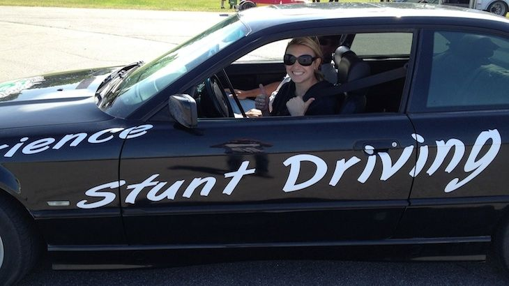 Half-Day Stunt Driving Ride-Along Experience