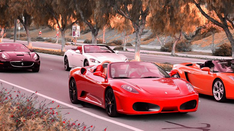 2-Hour Exotic Car Tour
