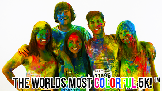 (EXPIRED) Most Colorful 5K at 55% off