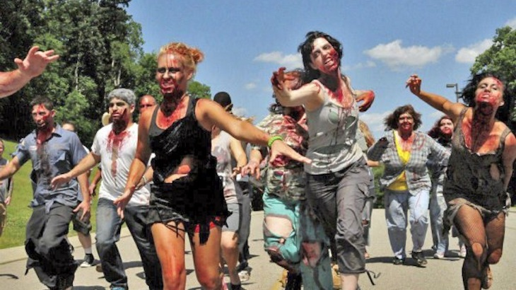 Zombie Race Participation on Sept. 8th (Long Island)