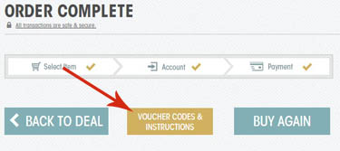 View Vouchers Button
