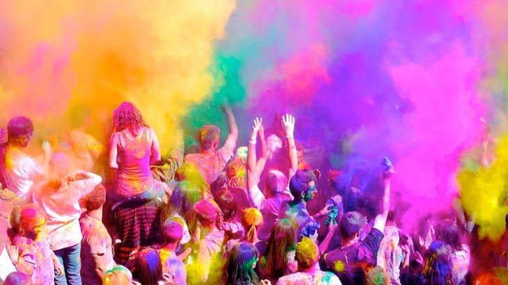 50% Off Entry to The Color Mob 5K Fun Run In Brooklyn