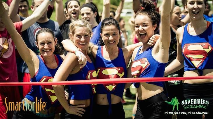 Entry For One To Superhero Scramble (10:40 - 12:00) Waves