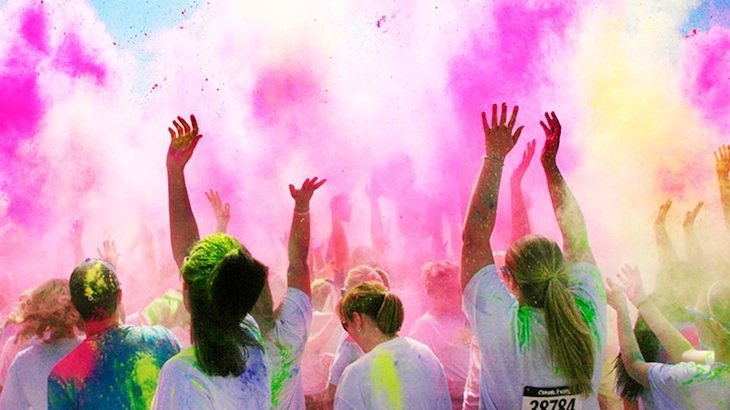 Paint the Town at the Color Vibe 5K
