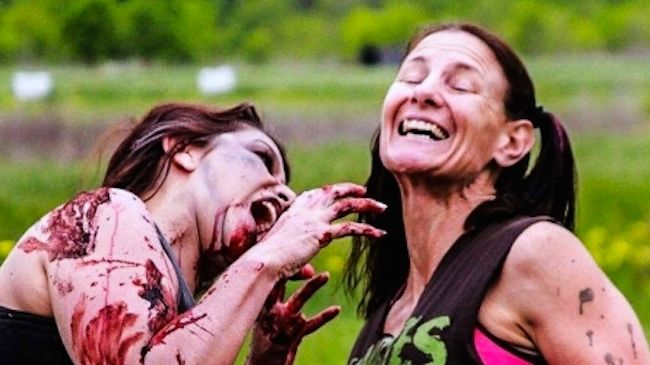 Entry to the 5K Race (chased by zombies) in Long Island - 50% Off
