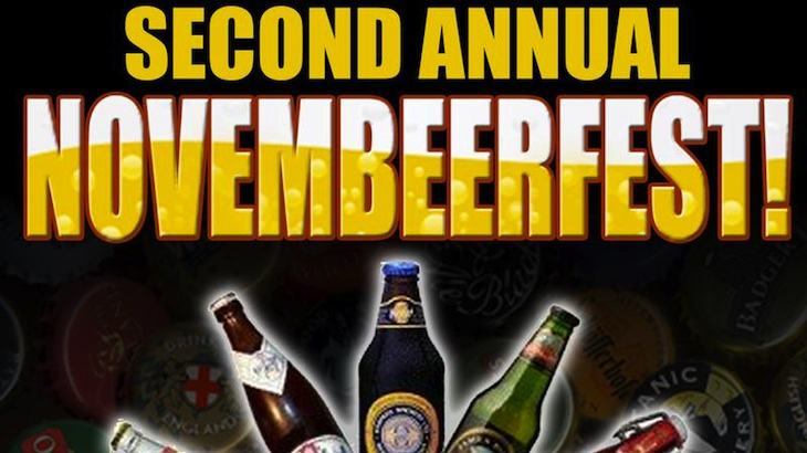 A Five Brews Ticket at Novembeerfest